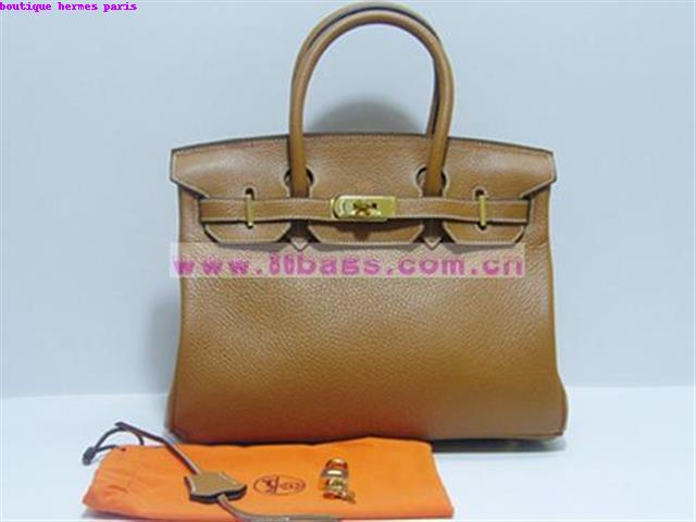 Boutique Hermes Paris Handbag